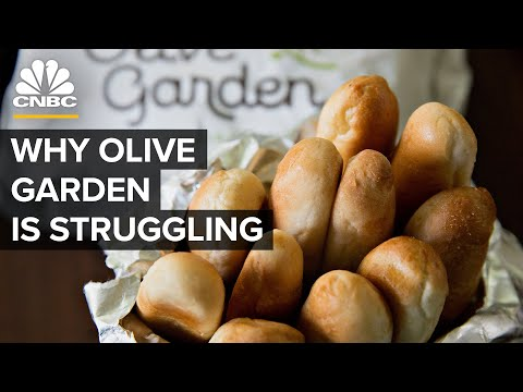 Why Olive Garden Is Struggling