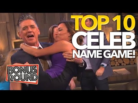 TOP 10 Celebrity Name Game Moments | Bonus Round