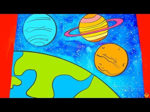 Kolay Uzay Cizimi Youtube