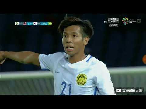 Malaysia U23 vs  Korea Republic U23  2-1(Part A)