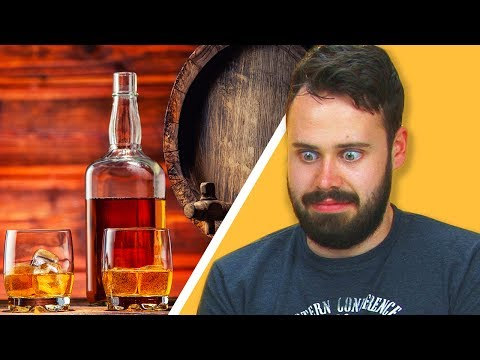Irish People Taste Test American Bourbon
