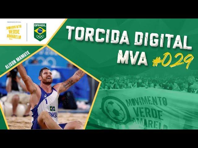 Torcida Digital MVA #029 - Tóquio 2020 - Quartas do Volei de Praia masculino - Brasil x Letônia