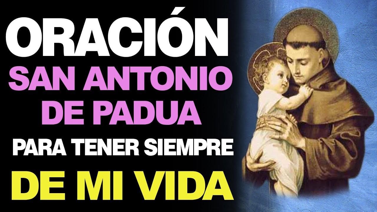 🙏 Poderosa Oración a San Antonio de Padua PARA LA SUERTE ¡PROVÉEME FORTUNA! 🍀