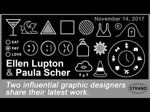 Ellen Lupton & Paula Scher On Design