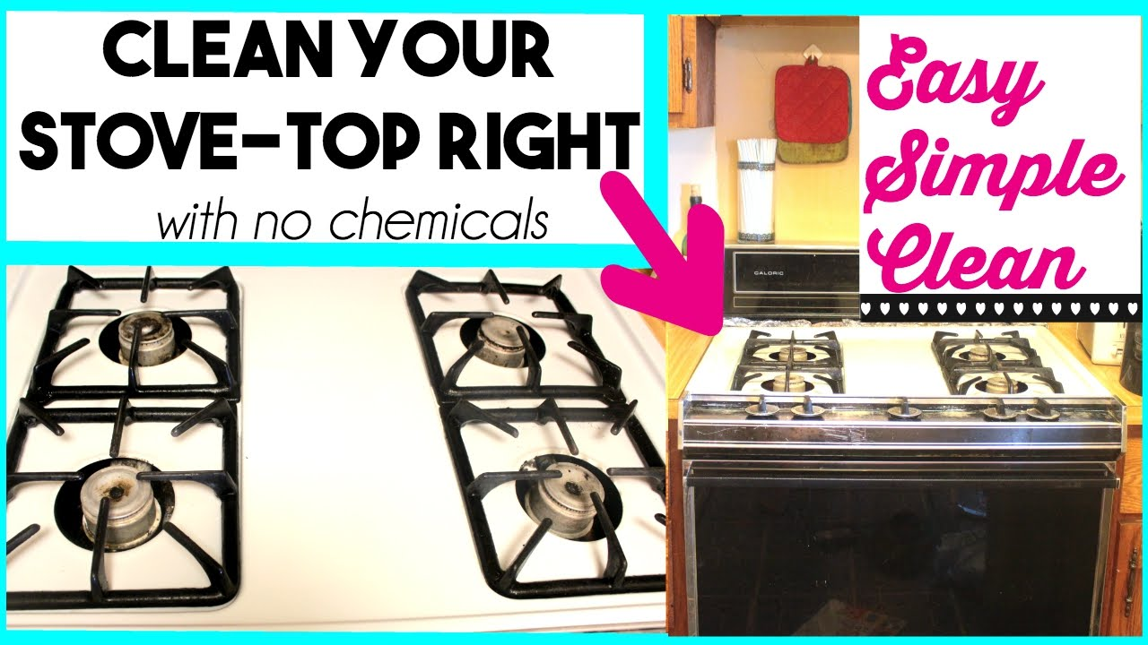 THE BEST STOVE-TOP CLEANER EVER | Vlogust 2015 | Sensational Finds - YouTube