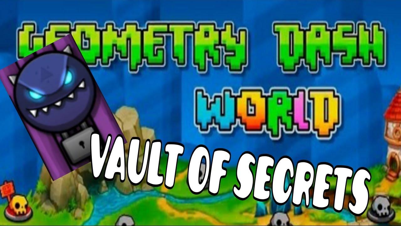 Geometry dash world progress 3 vault of secrets for Vault of secrets