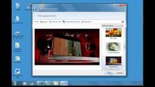 Créer un DVD en utilisant l'outil de création DVD Windows7