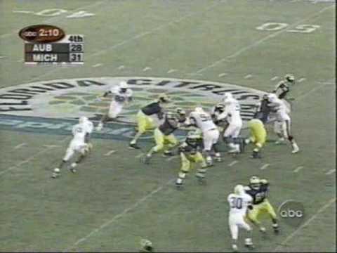 2001 Citrus Bowl: Michigan 31 Auburn 28 (PART 2)