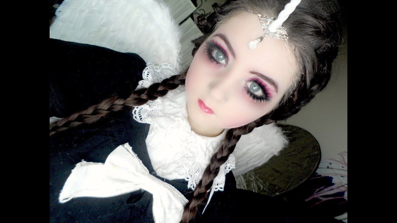 Cute Emo Love Wallpaper Dark Angel Makeup Youtube