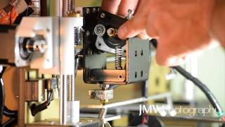anet a8 3d printer mk8 extruder assembly setup tutorial