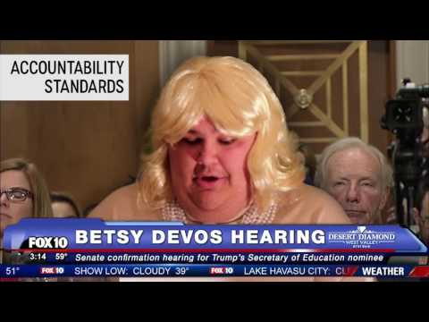 Highlights of the Betsy Devos Secretary of Education Hearing