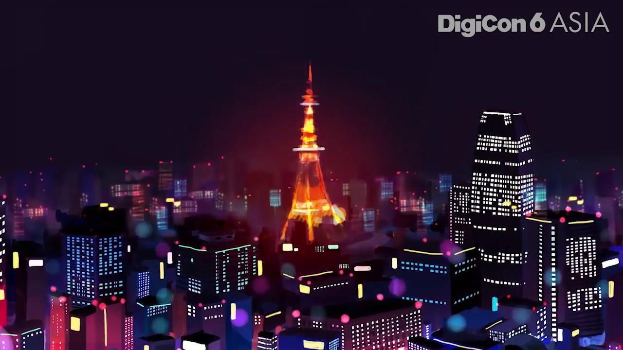 ワタシの住む街/アニメーション【20th DigiCon6 JAPAN youth部門/審査員特別賞】