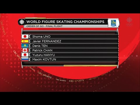 2016 Worlds - Men's SP Full Broadcast CBC