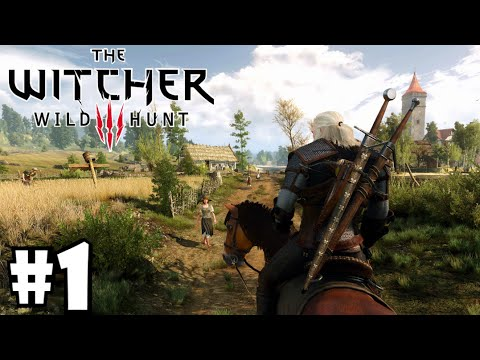 THE WITCHER 3: Gameplay español PC (Parte 1) + Guía de cómo jugar The Witcher 3 Wild Hunt