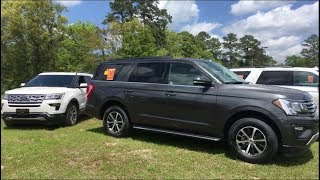 Live 2018 Ford Expedition VS 2018 Ford Explorer - Comparison Review