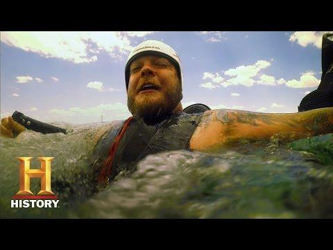 Pawn Stars: Corey Tests a Hydro Jetpack   History