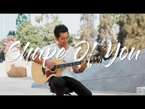 Shape of You (Ed Sheeran) - Fingerstyle Acoustic Guitar Cover