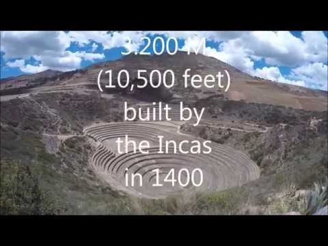 Moray Inca Circular farms, Peru, Part 1