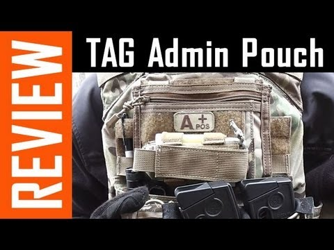 TAG Rampage Admin Pouch - Review!