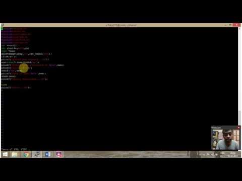 Unix 10: Interprocess Communication using Shared Memory