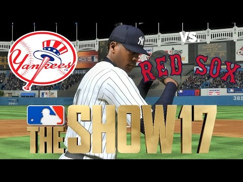 MLB The Show 17 - Full Game Series - Red Sox vs Yankees (Old Yankee Stadium)