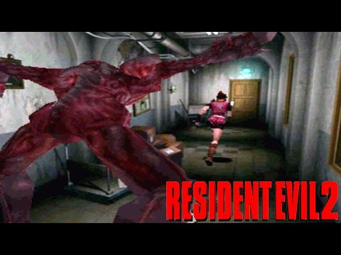 Let's Play Resident Evil 2 Ep.02 Licker On The Roof