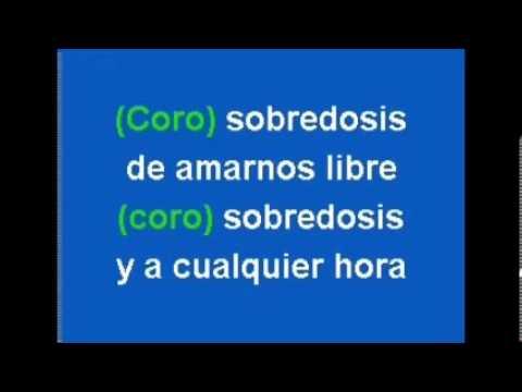 Sobredosis de Amor  Los Titanes Salsa Karaoke)