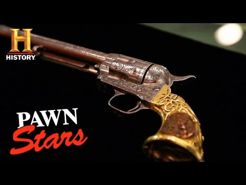 Pawn Stars: SUPER RARE Colt Revolver Gets High Appraisal (Season 13) | History