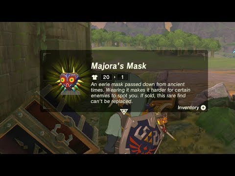 Majora's Mask Location! The Legend of Zelda: Breath of the Wild