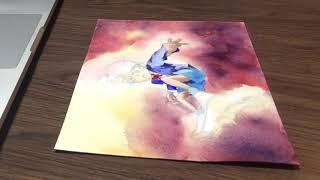 Watercolor Demo : Detective Conan 柯南水彩示範