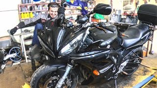 'Дитя Колхоза' или вторая жизнь для Yamaha FZ 6