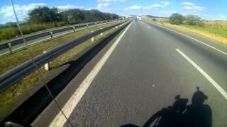 Triste acidente de moto , pneu da moto furou piloto perdeu o controle , Luciano da Kawasaki
