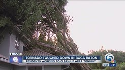 Tornado touched down in Boca Raton
