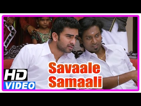 Savaale Samaali Tamil Movie | Scenes | Jagan's Engagement Stopped | Ashok Selvan