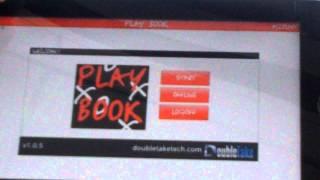 "DoubleTake Play Book app Demo - ""Minority Report meets coaching!"