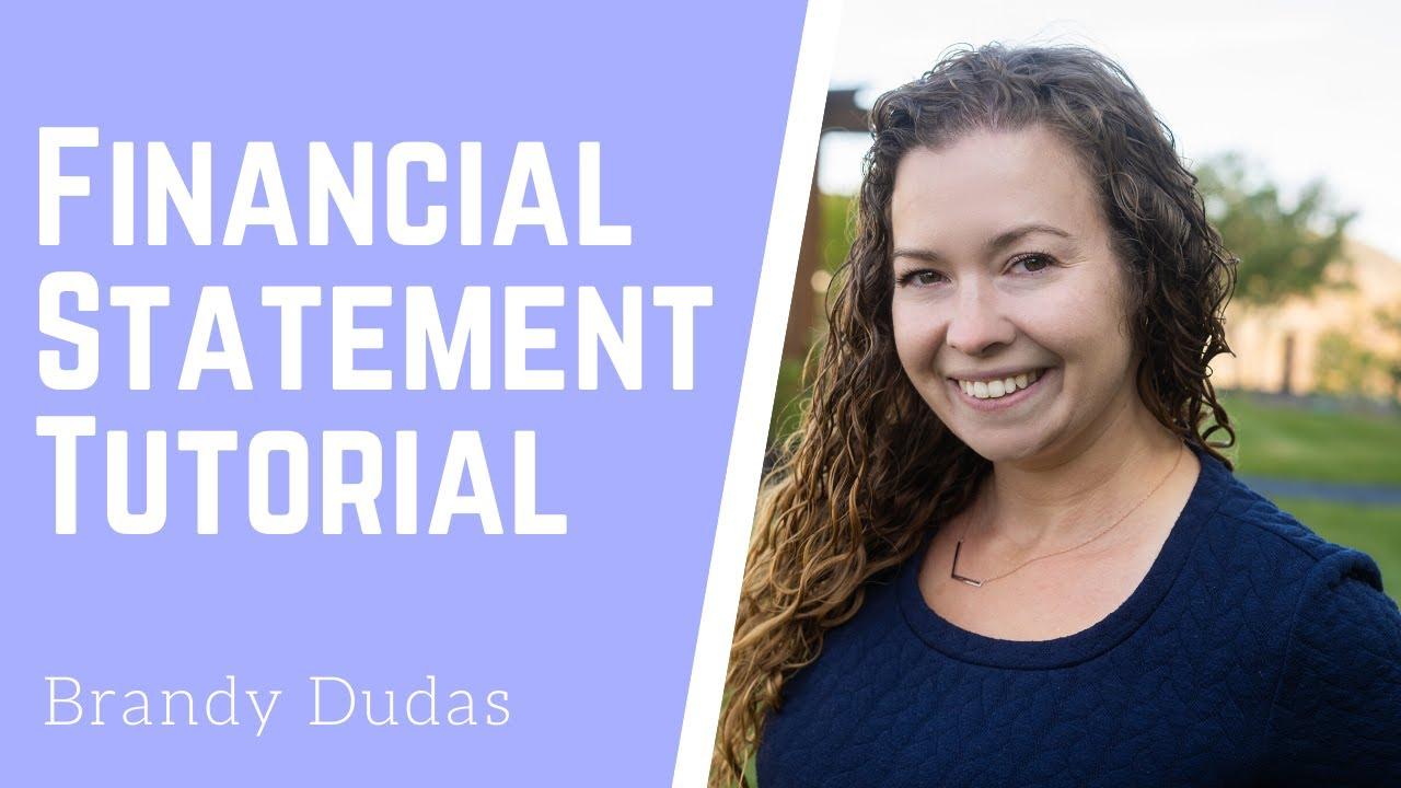 basic financial statements youtube