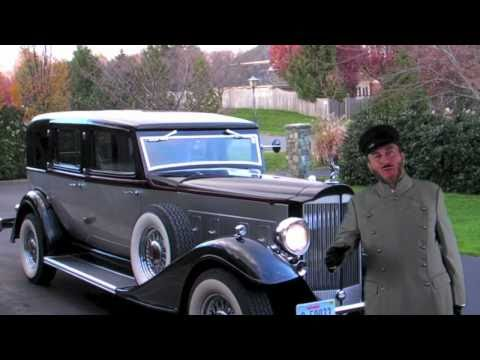 Air Conditioning Not Working In Car >> Vintage Limousine - 1933 Packard Town Car - YouTube