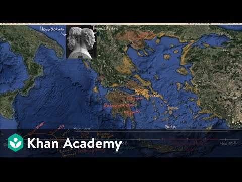 Prelude to the Peloponnesian War | World History | Khan Academy