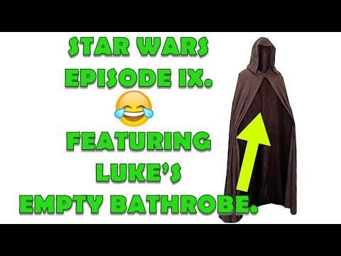 DISNEY LUCASFILM SUCCESSFULLY SIGNS MARK HAMILL'S BATHROBE FOR STAR WARS EP IX!