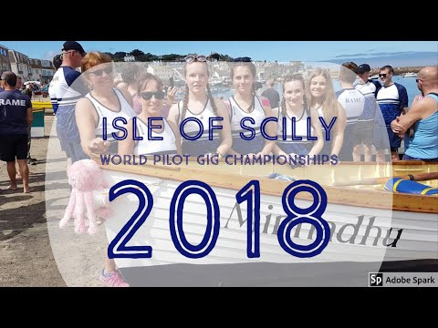 Isle Of Scilly World Pilot Gig Championships 2018
