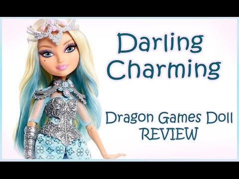 Дарлинг Чарминг Игра Драконов| Darling Charming Dragon Games Doll REVIEW