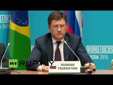 LIVE: Meeting of the BRICS energy ministers - Closing statement by Alexander Novak