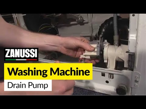 How to Replace the Drain Pump on a Washing Machine (Zanussi)