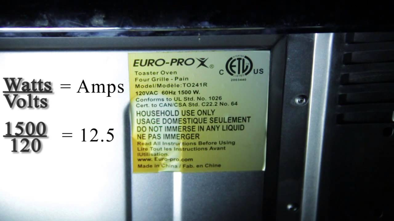 How to calculate amps drawn by an appliance electrical solutions how to calculate amps drawn by an appliance electrical solutions publicscrutiny Choice Image