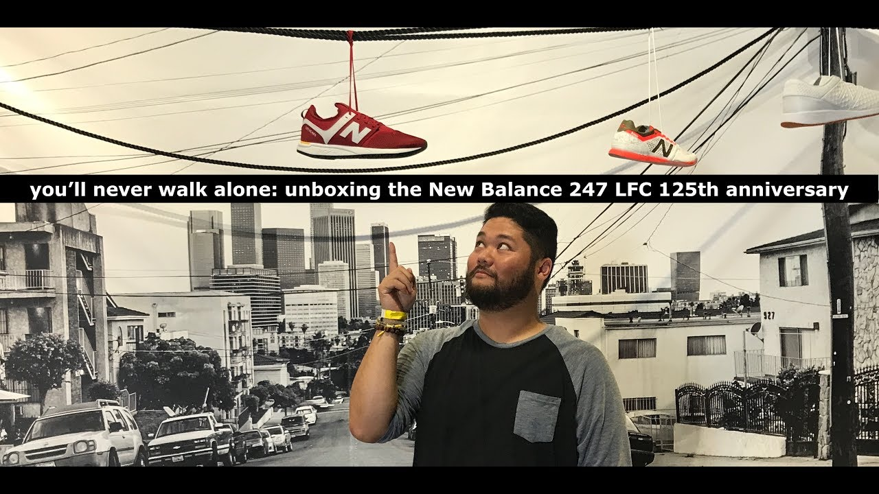 b745d0e5 Liverpool in Los Angeles: Unboxing The New Balance 247 LFC 125th ...