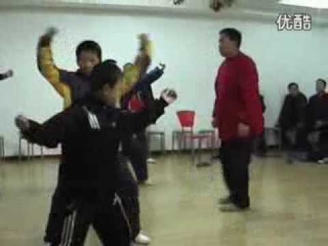 南昌八极拳传习所  八极拳大师吴连枝先生讲解八极拳实用技法 Nanchang Baji Quan Chuanxi Suo