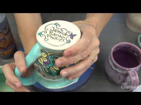 5 Ways To Sign Your Pottery!