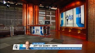 ESPN NBA Analyst Jeff Van Gundy Talks NBA Playoffs & More - 5/23/16