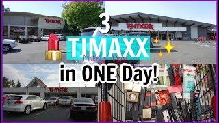 3 TJMAXX visits in 1 day!!   Makeup Deals and Steals at TJMAXX