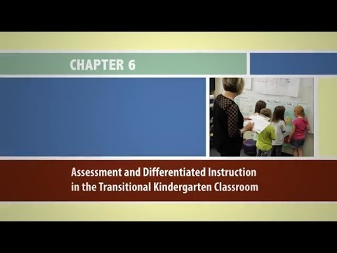 Chapter 6 Assessment And Differentiated Instruction In The Tk